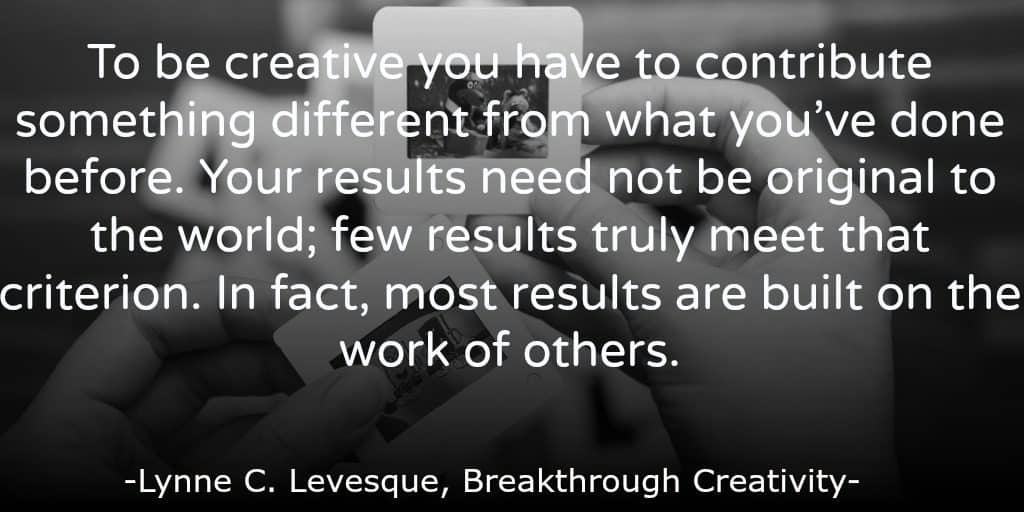 Innovation Quote - Breakthrough