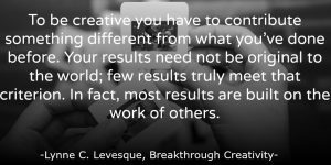 Innovation Quote: Contribute Something Different