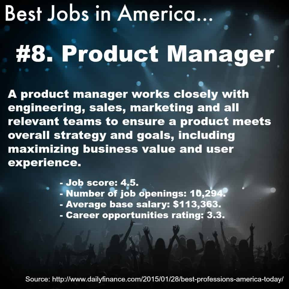 Product Manager - #8 Best Job in America